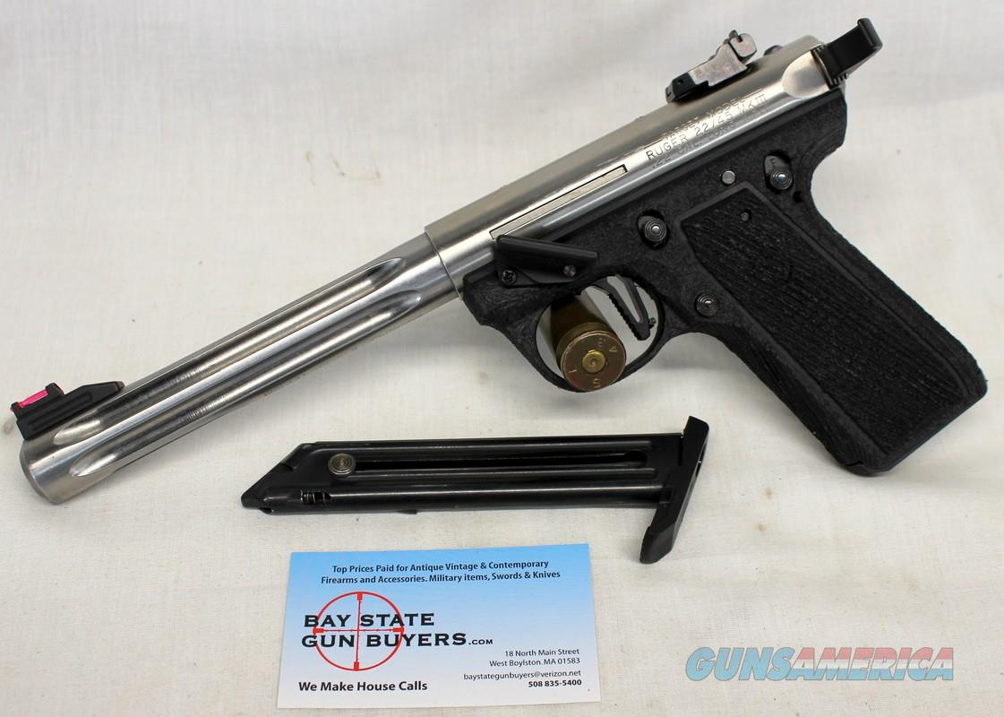 Ruger MKIII 22/45 semi-automatic Target Pistol ~ .22LR ~ UPGRADED ~ Stainless Steel Barrel  Guns > Pistols > Ruger Semi-Auto Pistols > 22/45