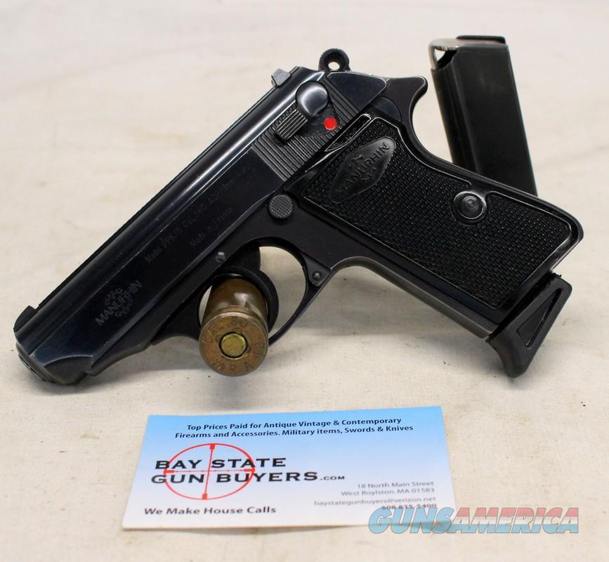 Manurhin PPK/S semi-automatic pistol ~ .380acp (9mm kurz) ~ WALTHER PATENT ~ Made in FRANCE  Guns > Pistols > MN Misc Pistols