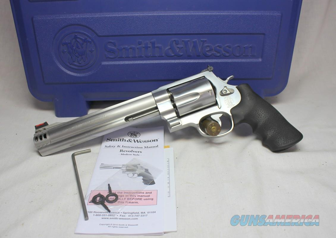 "Smith & Wesson Model 500 ~ .500 S&W Magnum Revolver ~ 8"" Barrel ~  BOX, PAPERS  Guns > Pistols > Smith & Wesson Revolvers > Full Frame Revolver"