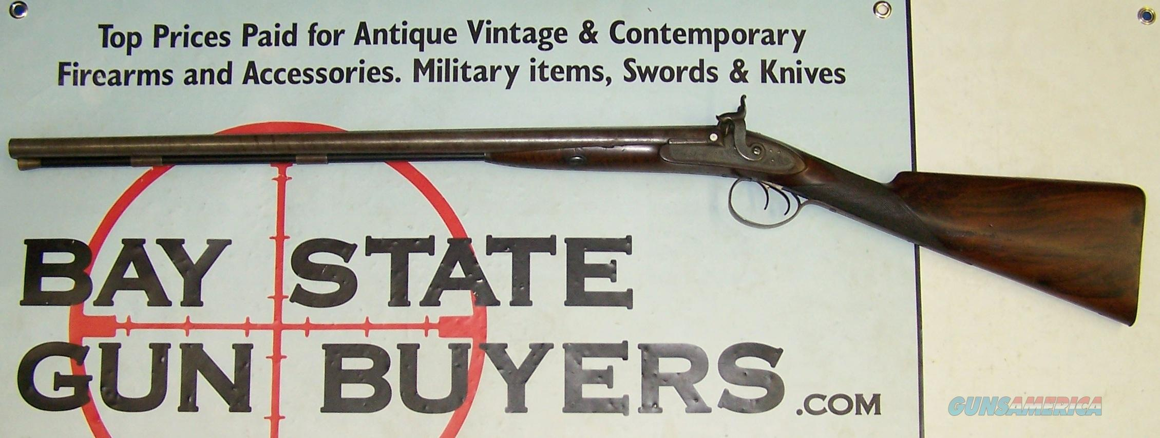 early Thomas Boss Double Barrel 16 ga. Shotgun Exposed Hammers HEAVILY ENGRAVED   Guns > Shotguns > Boss & Co. Shotguns