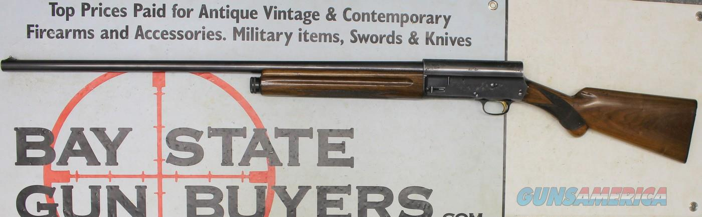 early Browning A5 LIGHT TWELVE shotgun ~ 12Ga. ~ FULL Choke ~ L prefix MFG. 1954-1955  Guns > Shotguns > Browning Shotguns > Autoloaders > Hunting