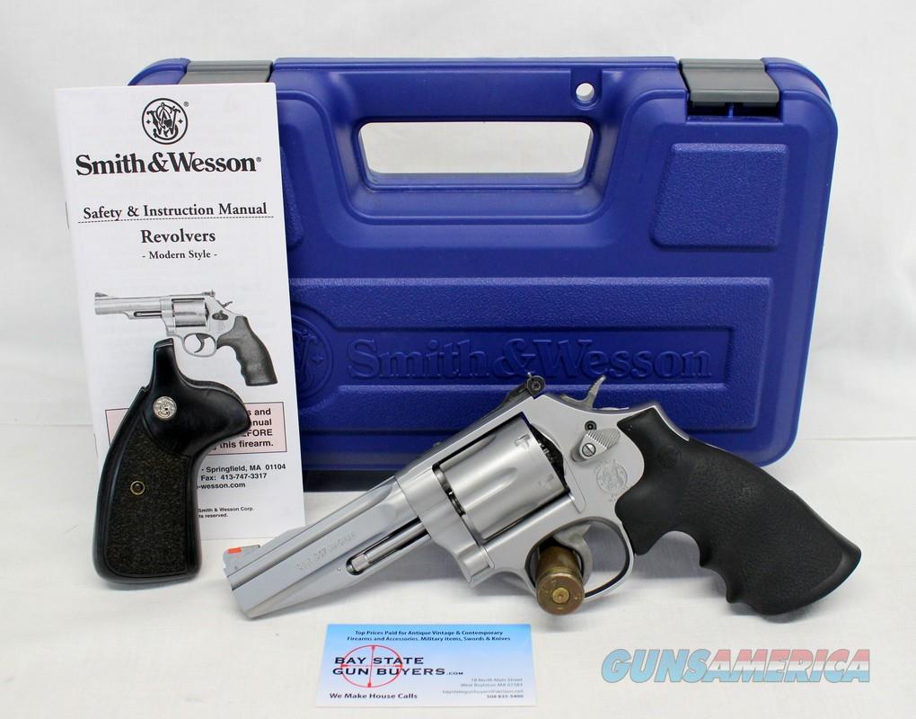 Smith & Wesson Model 686-6 PRO SERIES .357 Magnum Revolver ~ BOX & MANUAL   Guns > Pistols > Smith & Wesson Revolvers > Med. Frame ( K/L )