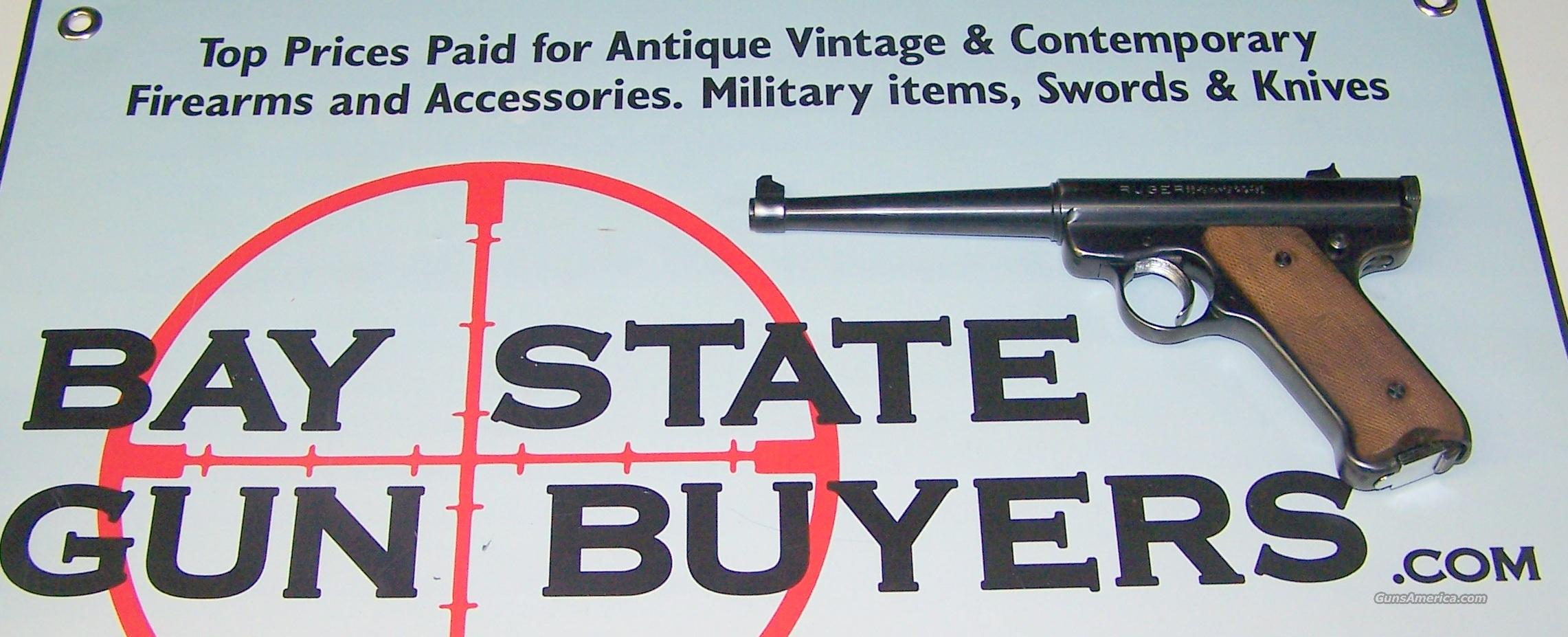 1973 Ruger Mark I Standard w Box + Papers  Guns > Pistols > Ruger Semi-Auto Pistols > Mark I & II Family