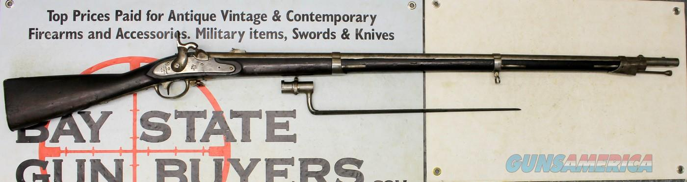 Harpers Ferry Model 1816 HEWES & PHILLIPS CONVERSION (1862) Musket ~ .69 Caliber ~ US Marked MATCHING NUMBERS Rifle  Guns > Rifles > Antique (Pre-1899) Rifles - Perc. Misc.