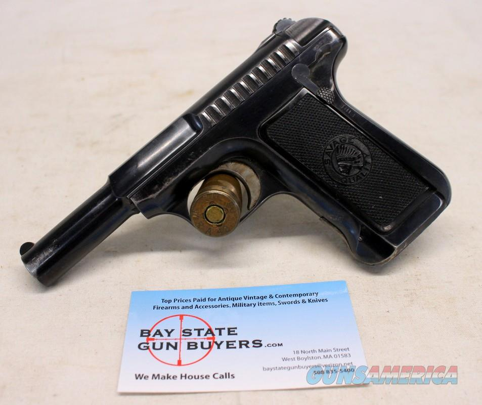 Savage Model 1907 semi-automatic pistol ~ .32 Caliber (7.65mm) ~ ORIGINAL CONDITION  Guns > Pistols > Savage Pistols