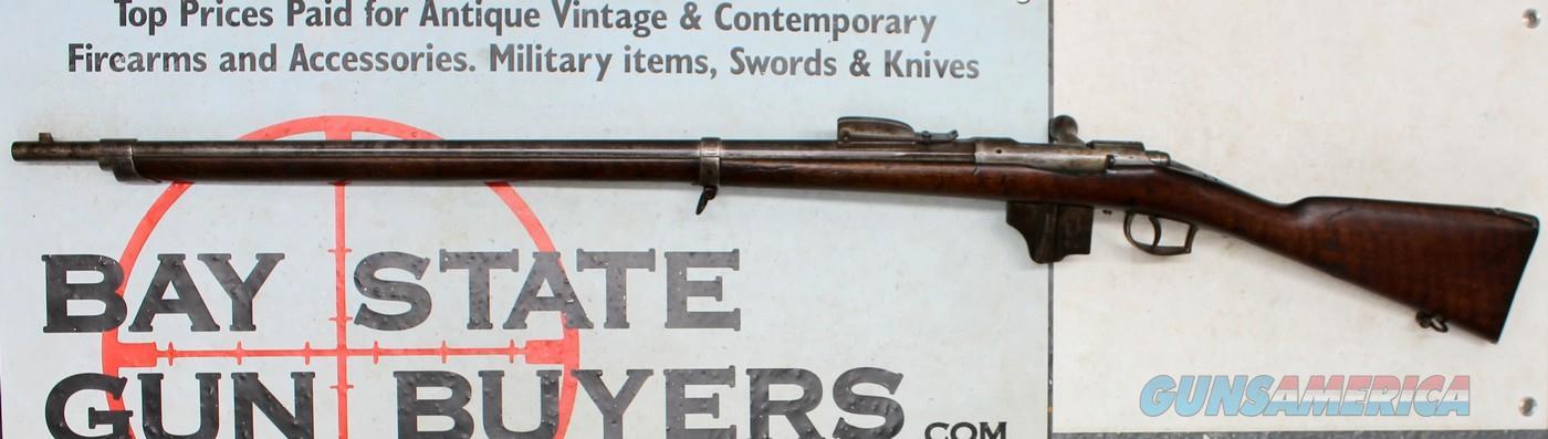 """Dutch Vitali MODEL 71/88 Bolt Action Rifle ~ 11.3x50R Caliber ~ """"1874"""" ANTIQUE  Guns > Rifles > Antique (Pre-1899) Rifles - Ctg. Misc."""