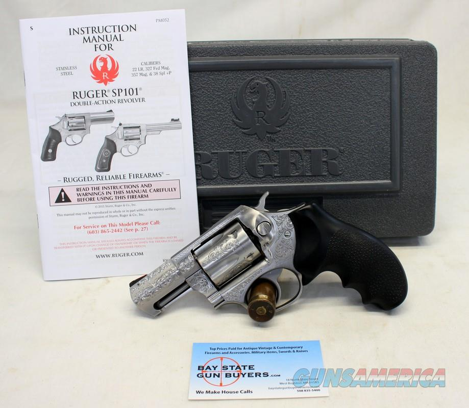 Ruger SP101 ENGRAVED 60th Anniversary Limited Edition revolver ~ .357 Magnum ~ Box & Manual  Guns > Pistols > Ruger Double Action Revolver > SP101 Type