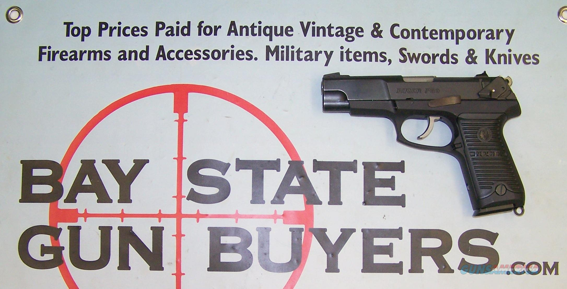 Ruger P89 semi-automtic pistol 9mm EXCELLENT P 89 BOX, PAPERS, EXTRA MAG  Guns > Pistols > Ruger Semi-Auto Pistols > P-Series