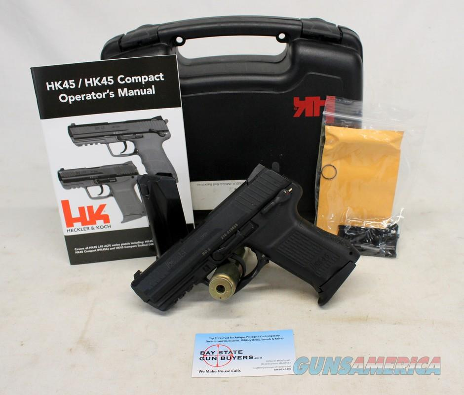 Heckler & Koch 45C semi-automatic compact pistol ~ .45ACP ~ Excellent Pre-owned Condition  Guns > Pistols > Heckler & Koch Pistols > Polymer Frame