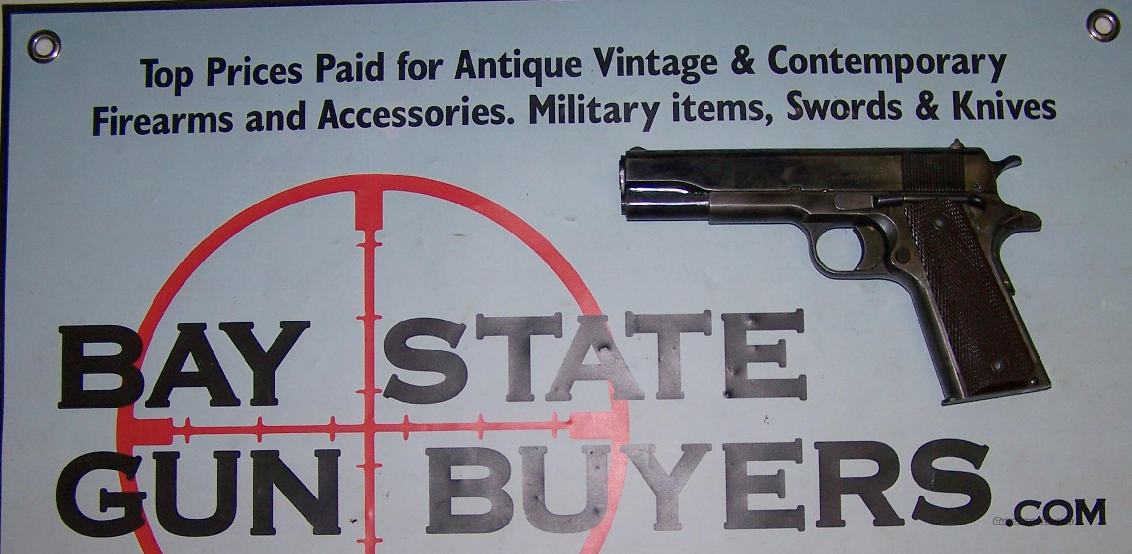 WWII Remington 1911M1 pistol .45 ACP ORIGINAL CONDITION  Guns > Pistols > Remington Pistols - Modern