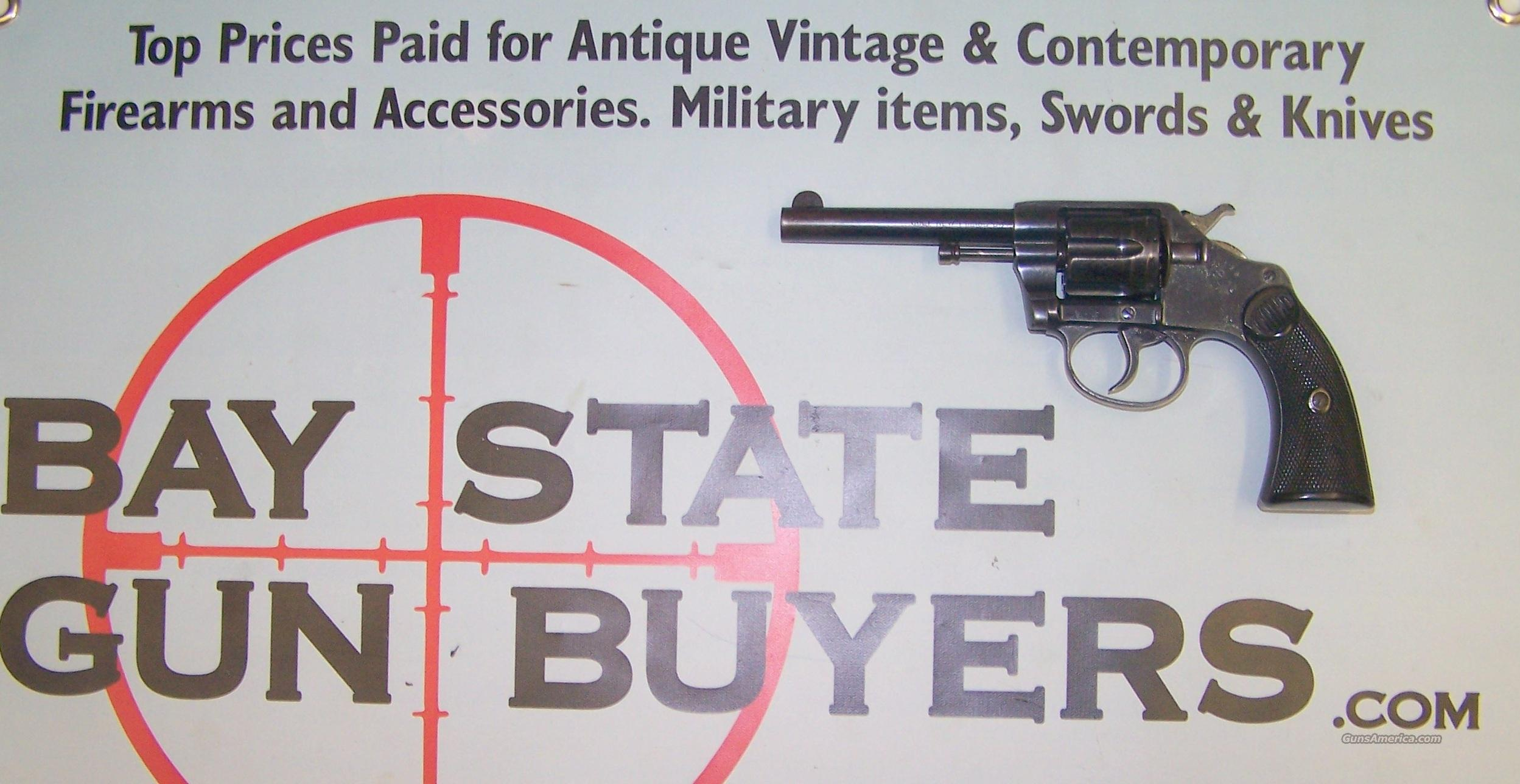 vintage COLT New Police 32 model 1905   Guns > Pistols > Colt Double Action Revolvers- Pre-1945