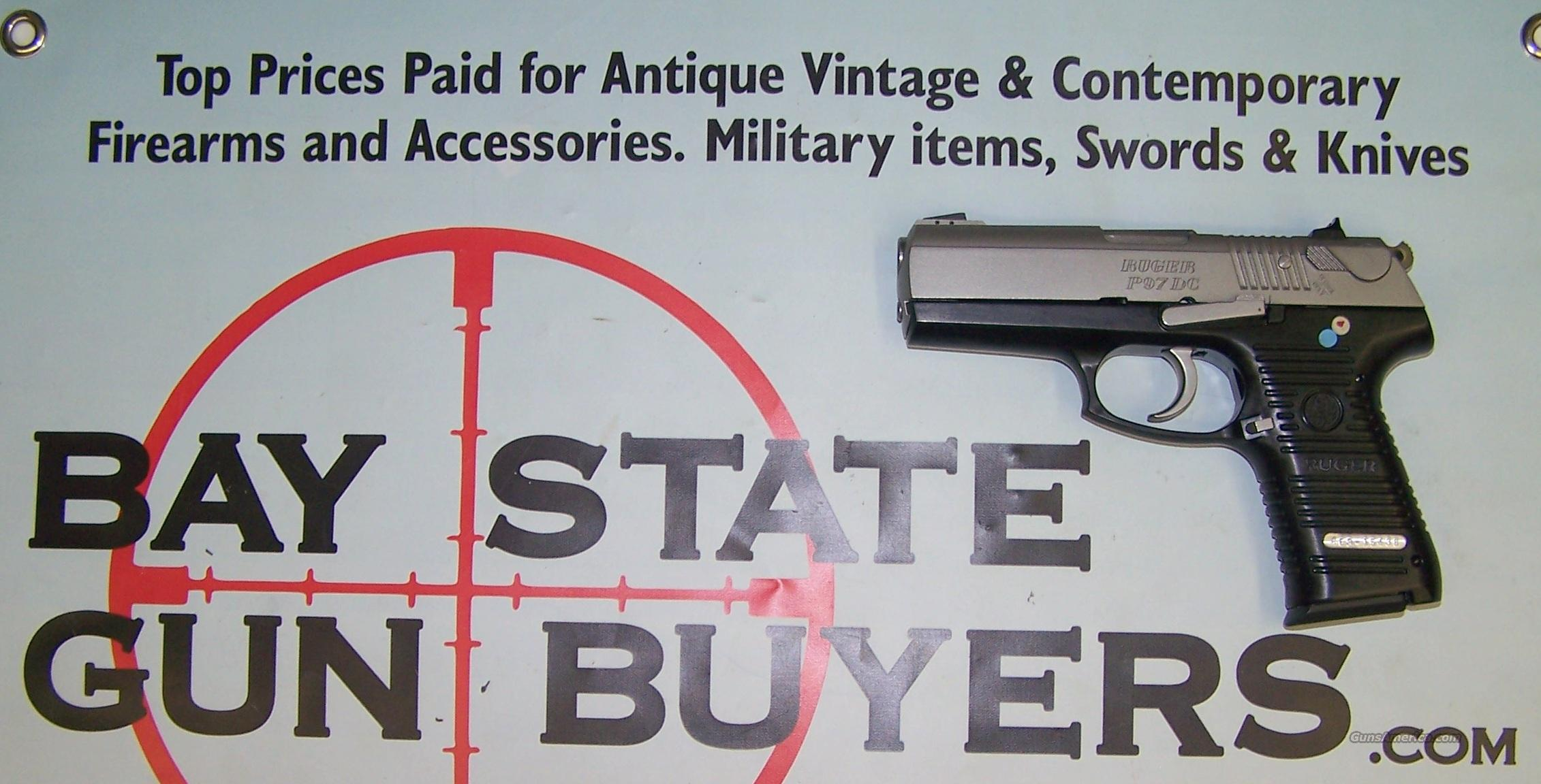 Ruger P97DC .45 acp Pistol LIKE NEW IN BOX P 97 DC  Guns > Pistols > Ruger Semi-Auto Pistols > P-Series