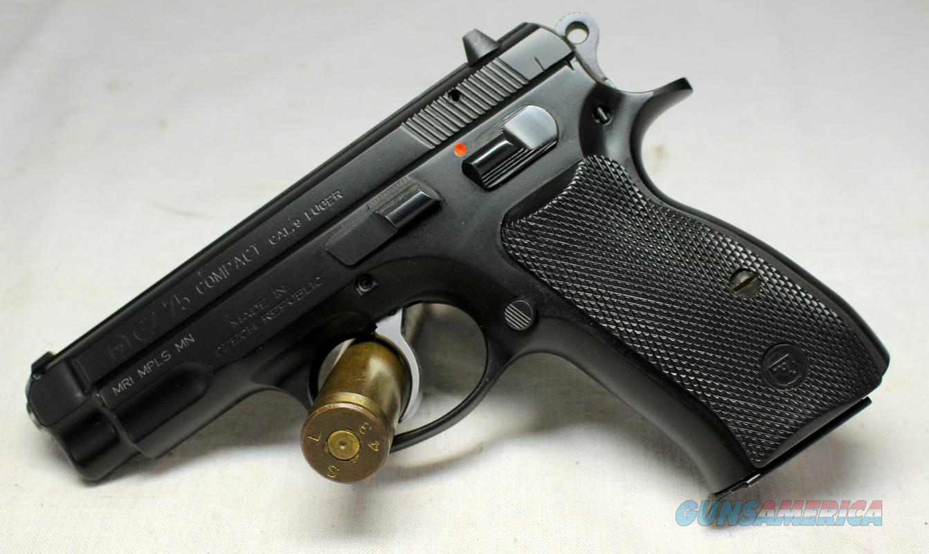 CZ Model 75 COMPACT Semi-automatic pistol ~ 9mm Luger EXCELLENT CONDITIONn (No MA Sales)  Guns > Pistols > CZ Pistols