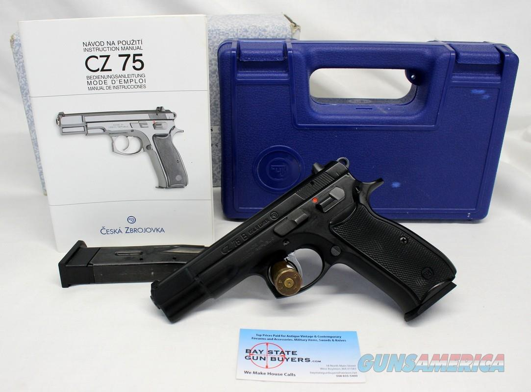 CZ Model 75B semi-automatic pistol ~ 9mm ~ Box & Manual ~ NO MASS SALES  Guns > Pistols > CZ Pistols