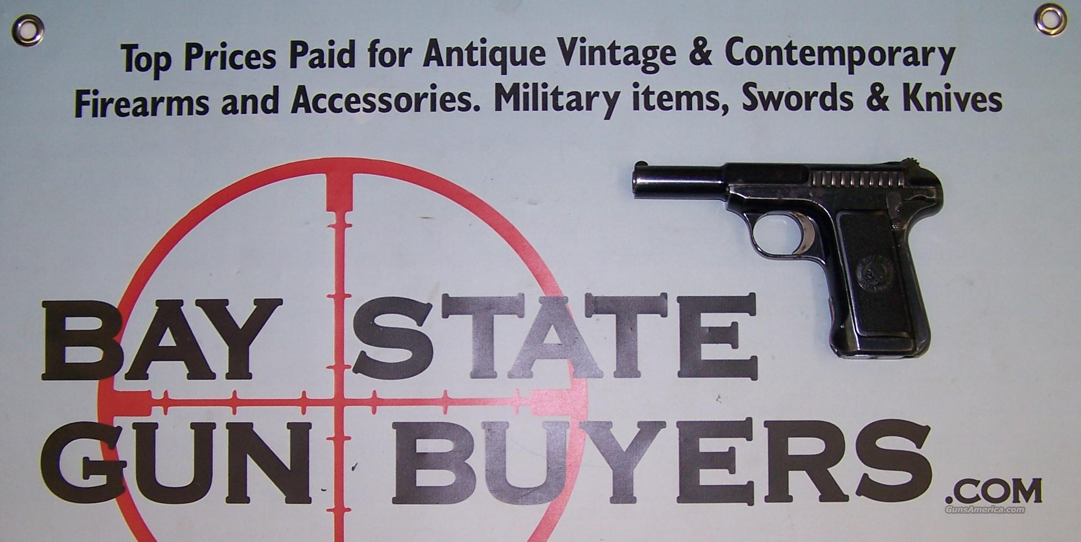 Savage Model 1907 pistol .32 ACP manufactured 1912   Guns > Pistols > Savage Pistols