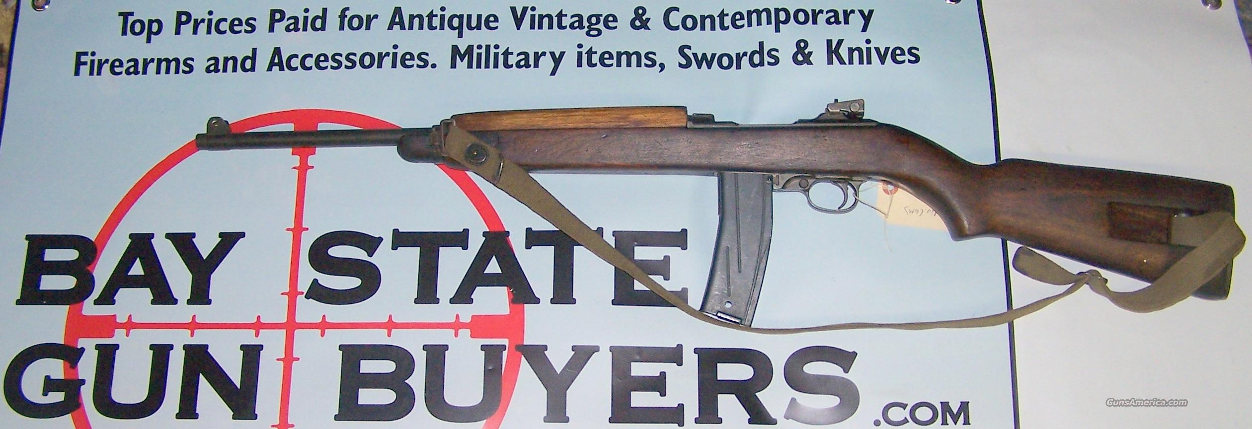 Inland Division of GM M1 Carbine **1ST BLOCK** 5-Digit SN .30MI CAL  Guns > Rifles > Military Misc. Rifles US > M1 Carbine