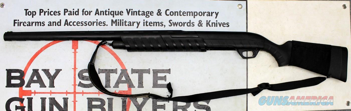 "Remington M887 Nitromag Pump Shotgun ~ 12 Ga. for 2 3/4"" and 4"" shells ~ Synthetic Stocks  Guns > Shotguns > Remington Shotguns  > Pump > Trap/Skeet"