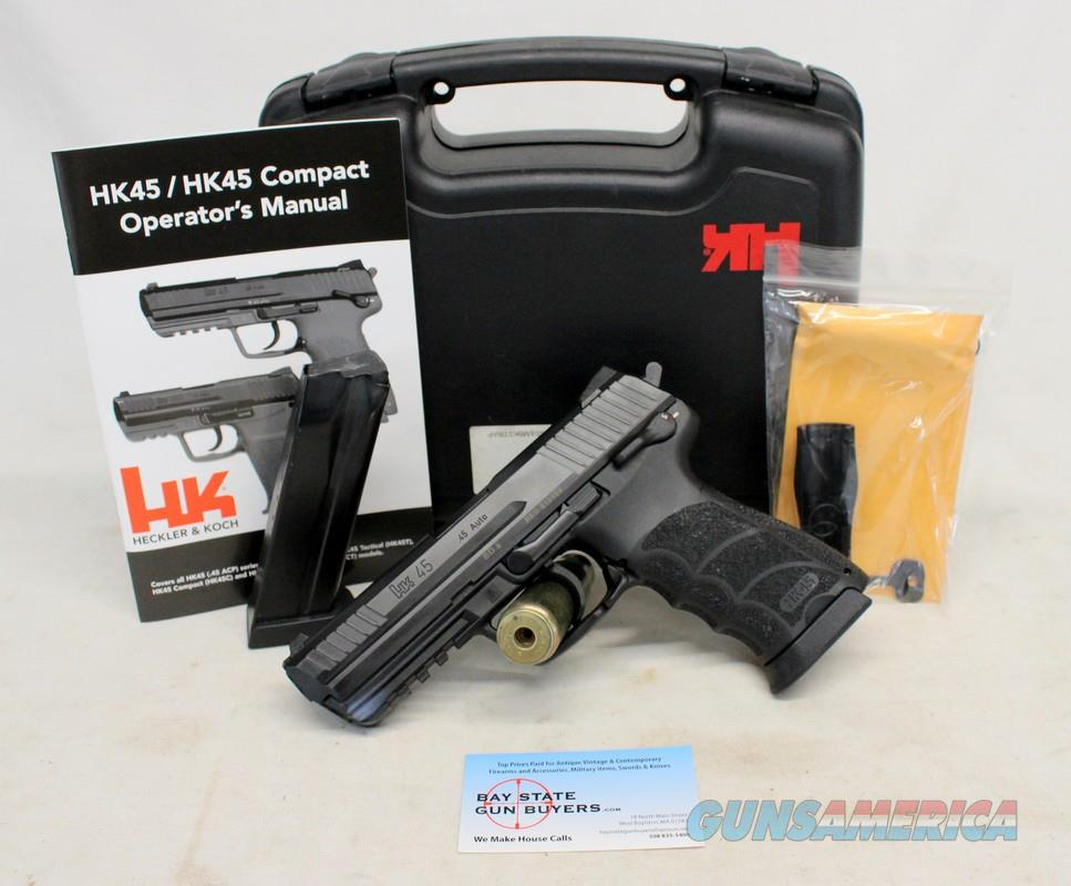 Heckler & Koch 45 semi-automatic full size pistol ~ .45ACP ~ Excellent Pre-owned Condition  Guns > Pistols > Heckler & Koch Pistols > Polymer Frame