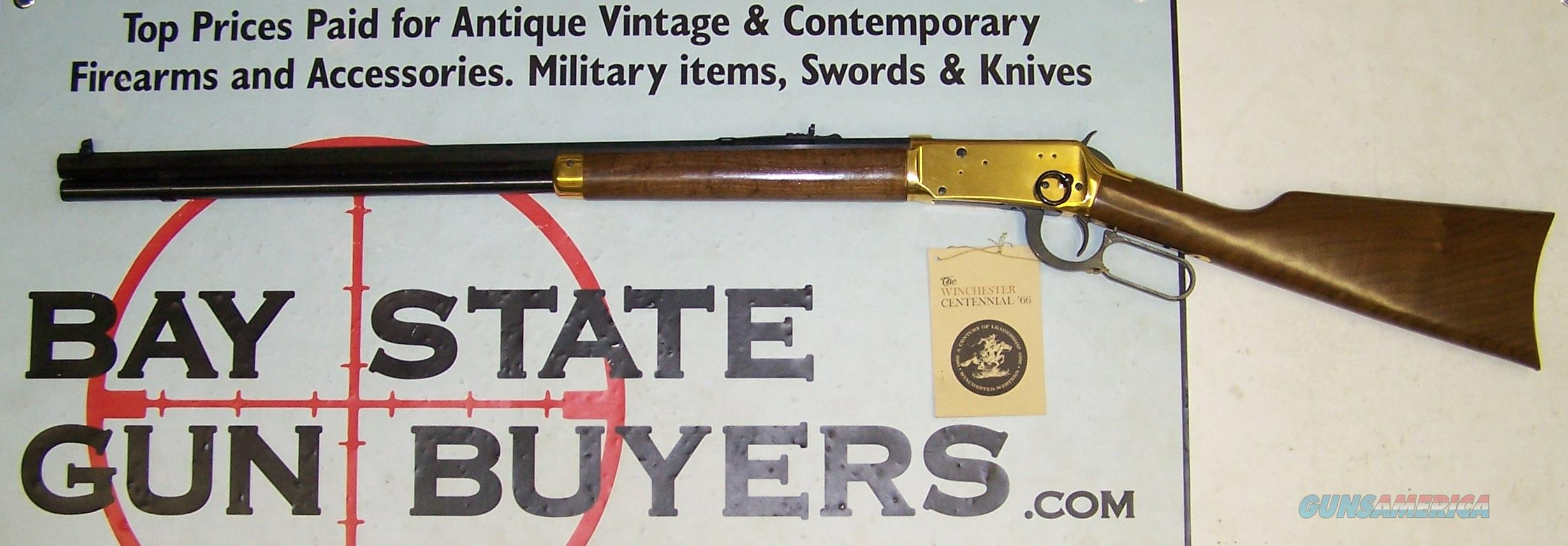 Winchester CENTENNIAL 66' Saddle Ring Rifle - BOX & PAPERS  Guns > Rifles > Winchester Rifle Commemoratives