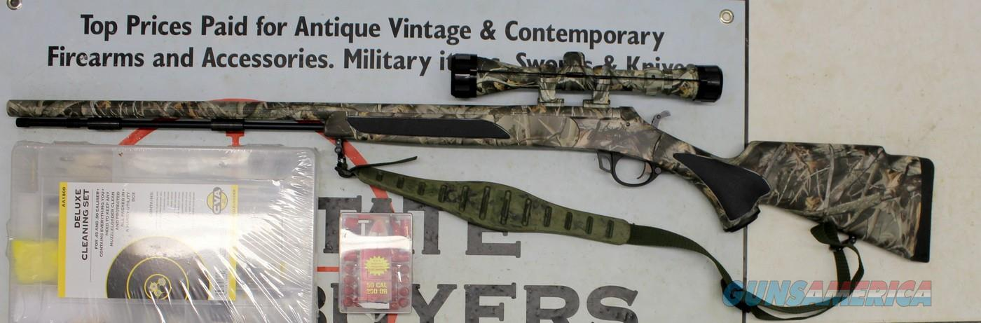 "Traditions VORTEK Ultralight .50 Caliber 1/28"" Black Powder Rifle ~ UNFIRED W/ ACCESSORIES  Guns > Rifles > Traditions Rifles"