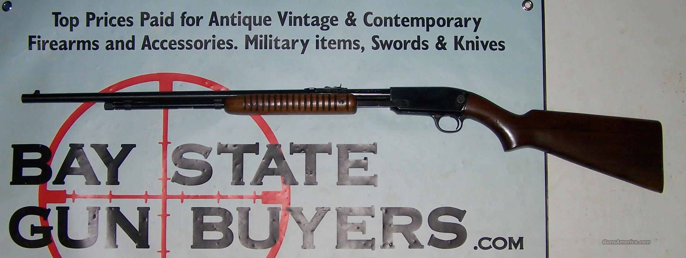 Winchester Model 61 Pump Action Rifle .22 S, L or LR (1947 Manf. Date)  Guns > Rifles > Winchester Rifles - Modern Pump