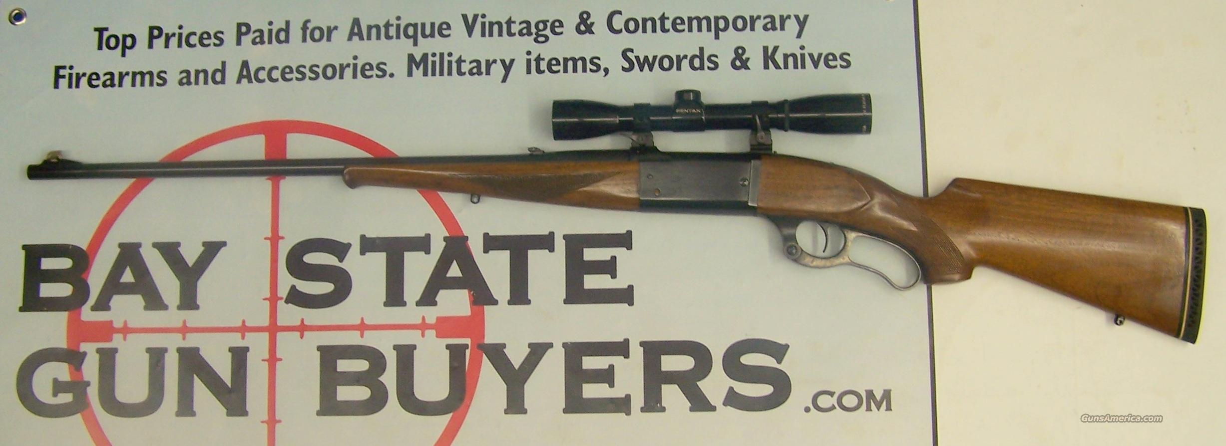 (1941) Savage Model 99 Lever Action Rifle .300 Savage with Pentax 4x Scope  Guns > Rifles > Savage Rifles > Model 95/99 Family
