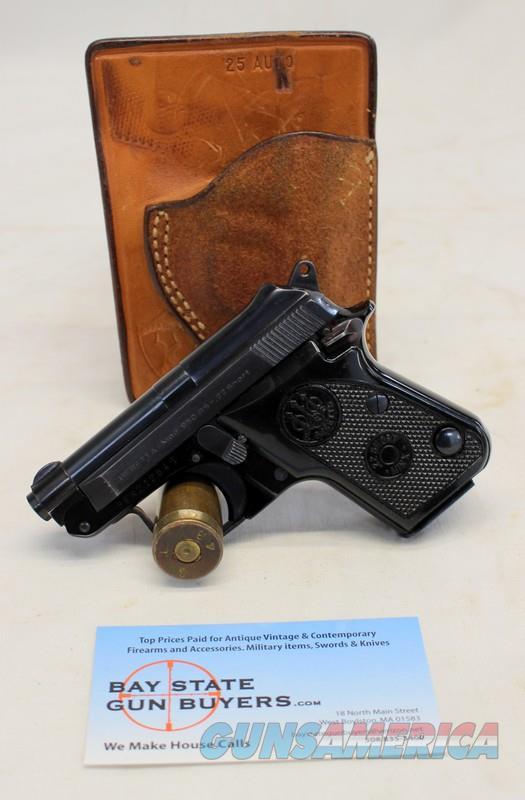 Beretta MODEL 950BS (Minx) Tip-out Pistol ~ .22 Short ~ EXCELLENT CONDITION ~ (1) Factory Magazine & Holster  Guns > Pistols > Beretta Pistols > Small Caliber Tip Out