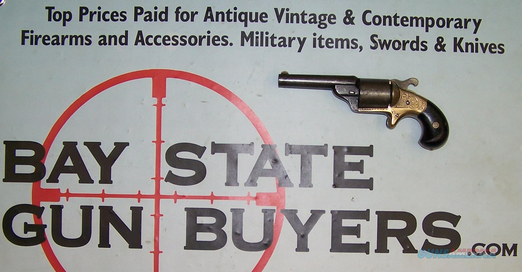 "RARE Moore's Patent Firearms Co. FRONT LOADING REVOLVER .32 ""Teat-Fire"" caliber 1860's  Guns > Pistols > Antique (Pre-1899) Pistols - Ctg. Misc."