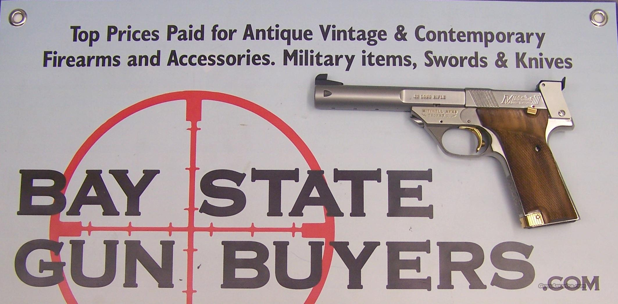 Mitchell Arms TROPHY II .22LR target pistol ORIGINAL BOX & PAPERS  Guns > Pistols > Mitchell Arms Pistols