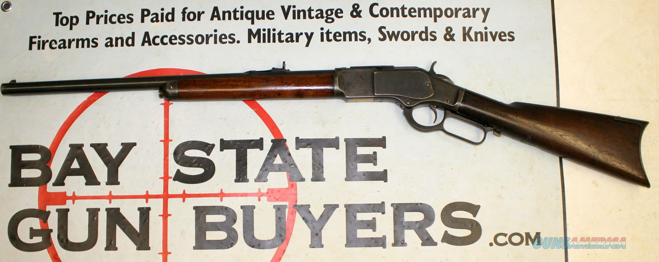 Winchester 1873 Lever Action Rifle - 32-20 - 1/2 Mag Tube (1883 Mfg) 3rd Model  Guns > Rifles > Winchester Rifles - Pre-1899 Lever