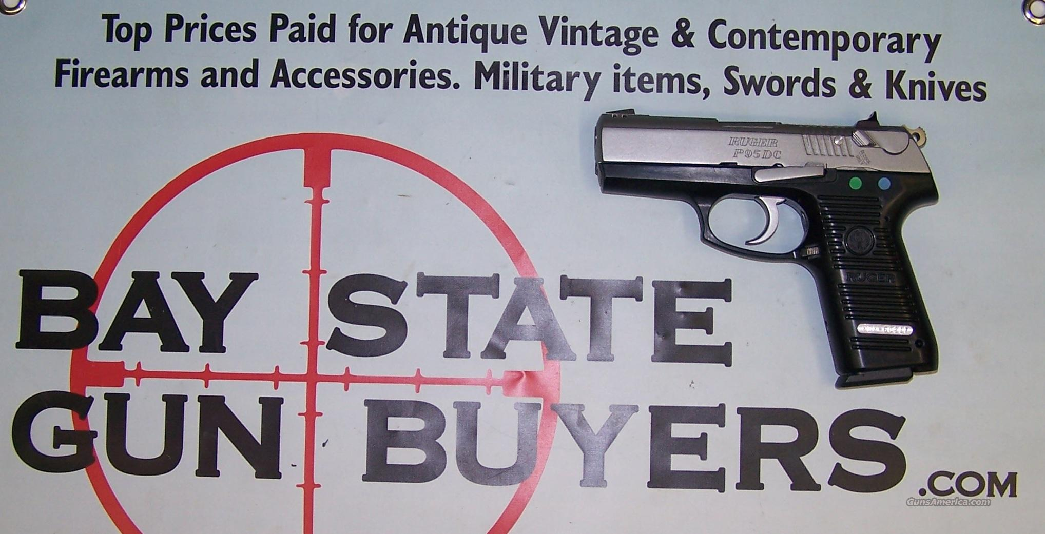Ruger P95DC  9mm Pistol LIKE NEW IN BOX P 95 DC  Guns > Pistols > Ruger Semi-Auto Pistols > P-Series
