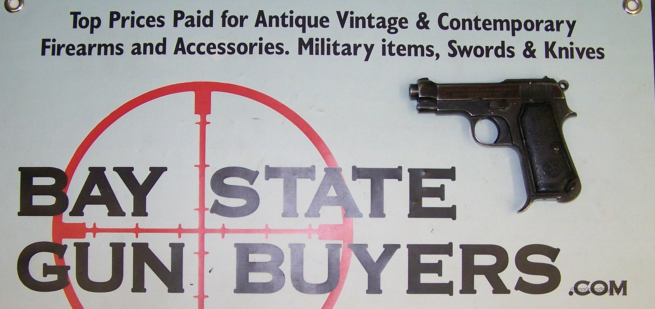 Beretta Model 1934 pistol 9 mm .380 cal with holster  Guns > Pistols > Beretta Pistols > Rare & Collectible