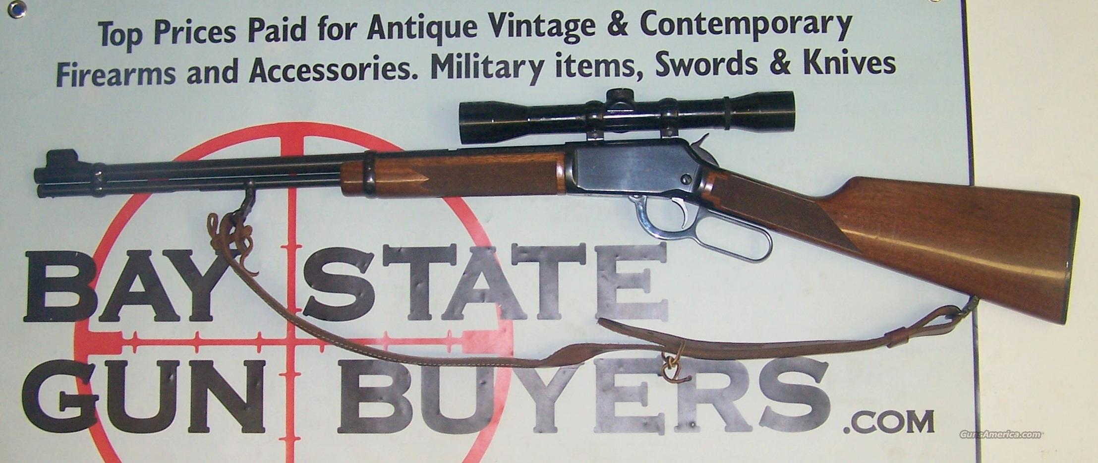 Winchester Model 9422 XTR Lever Action Rifle .22 S,L or LR Checkering w/ Leather Sling  Guns > Rifles > Winchester Rifles - Modern Lever > Model 94 > Post-64