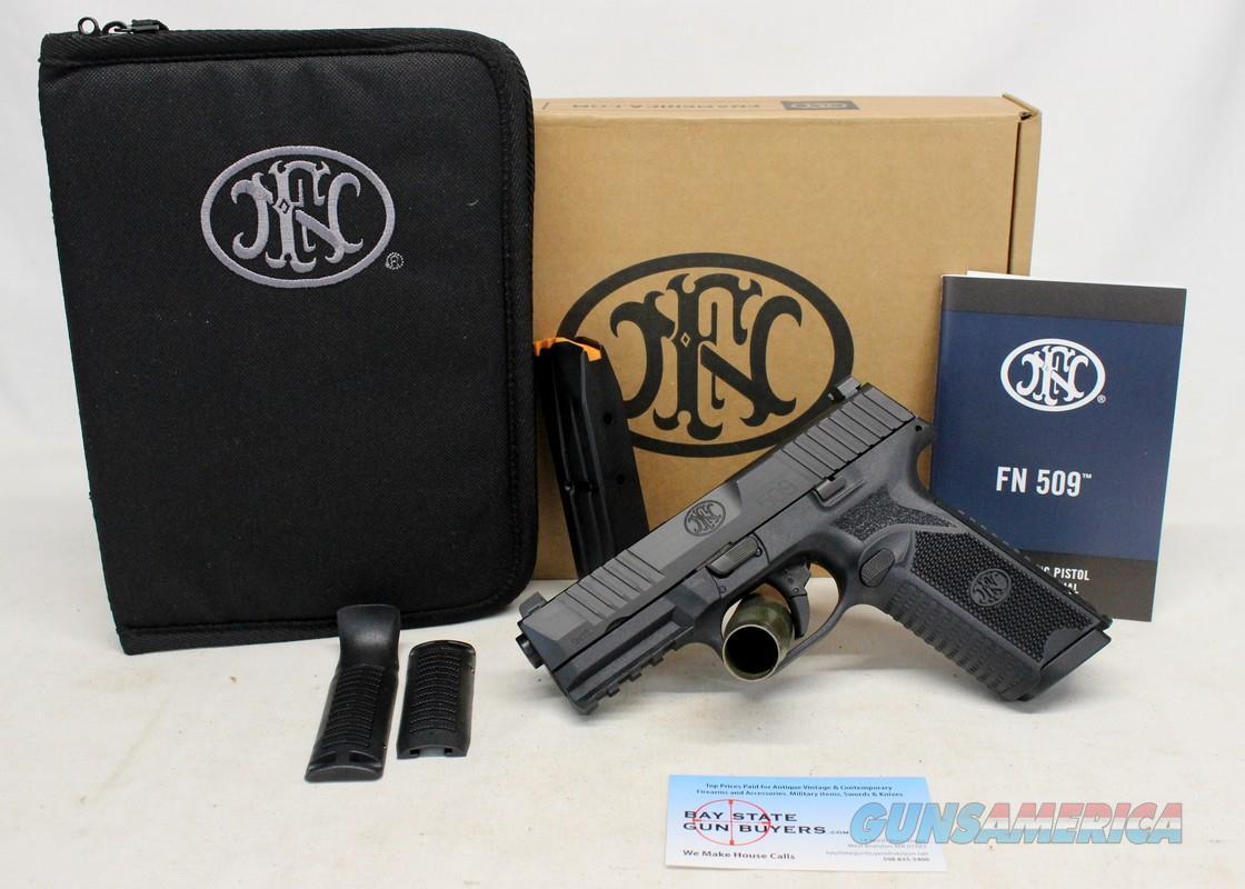 FN Model 509 semi-automatic pistol ~ 9mm ~ Box, Manual & Mags  Guns > Pistols > FNH - Fabrique Nationale (FN) Pistols > FN 509
