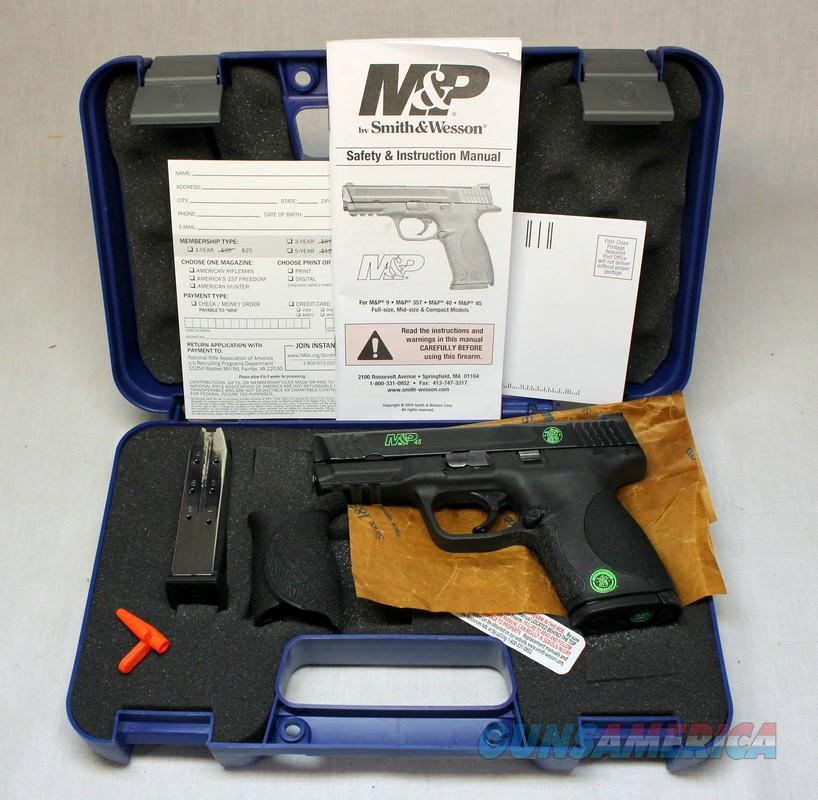 Smith & Wesson M&P45c (Compact) Semi-automatic Pistol ~ GREEN ACCENTS ~ Like New In Box  Guns > Pistols > Smith & Wesson Pistols - Autos > Polymer Frame
