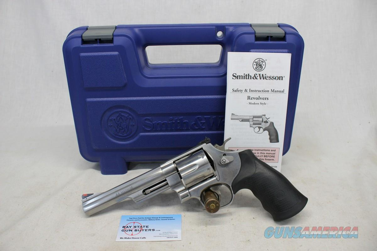 """Smith & Wesson Model 629-6 Stainless Steel Revolver ~ .44 Mag ~ 6"""" Barrel ~ Original box & manual  Guns > Pistols > Smith & Wesson Revolvers > Model 629"""
