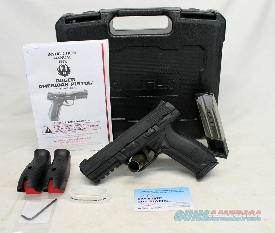 Ruger AMERICAN (Model 08661) semi-automatic pistol ~ 9mm ~ Box, Manual & Magazines  Guns > Pistols > Ruger Semi-Auto Pistols > American Pistol