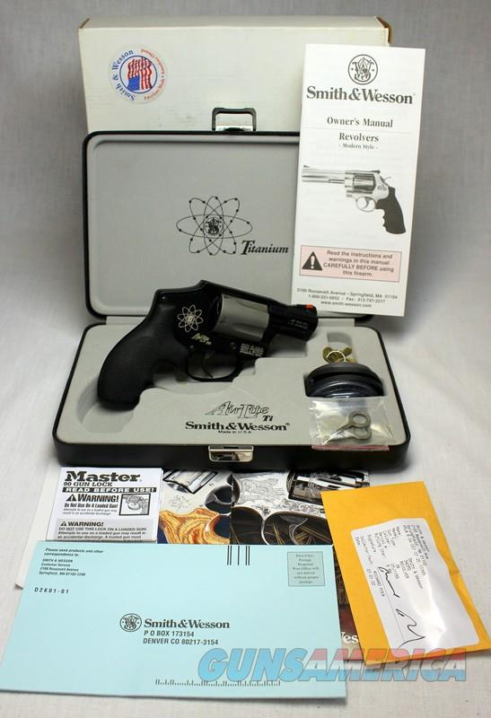 RARE Smith & Wesson Model 342PD TITANIUM Revolver ~ .38spl ~ LIKE NEW WITH BOX & PAPERS  Guns > Pistols > Smith & Wesson Revolvers > Small Frame ( J )