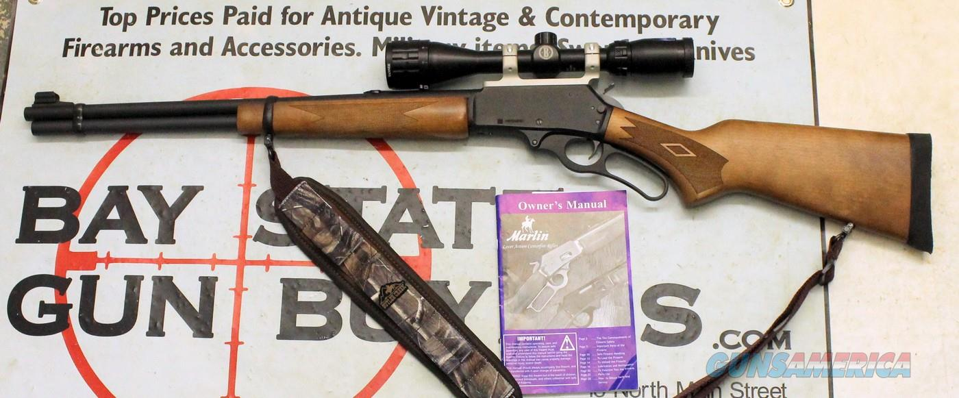 Marlin Model 336W lever action rifle ~ 30-30 Win ~ Bushnell Scope & Padded Sling ~ READY TO TAKE HUNTING!  Guns > Rifles > Marlin Rifles > Modern > Lever Action