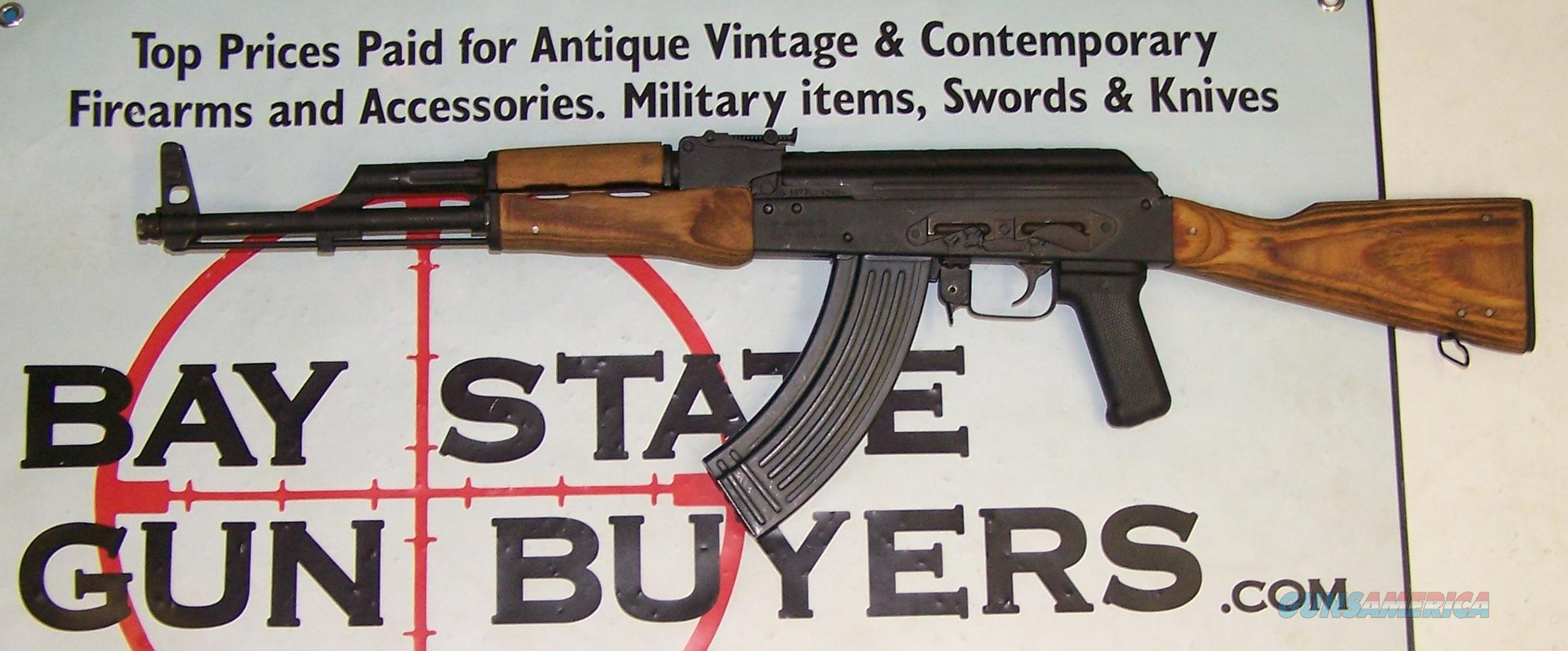Century Interntion Arms WASR 10 AK-47 rifle 7.62 x 39mm (3) 30 rd magazines  Guns > Rifles > AK-47 Rifles (and copies) > Full Stock