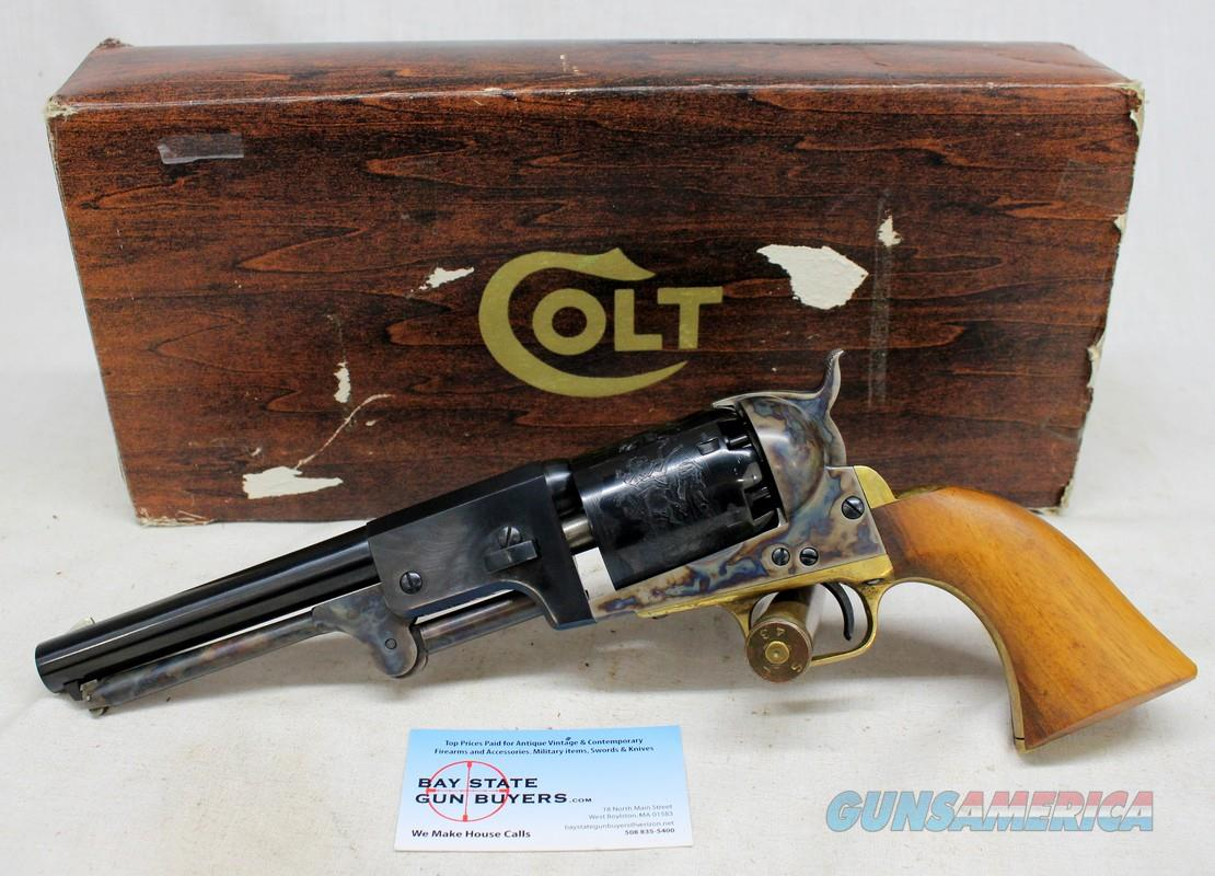 "Colt 2nd Generation 3rd Model 1848 Dragoon, C-1770 'C-Series' Blue & Case Colored 7 ½"" Single Action Revolver & Box  Guns > Pistols > Colt Single Action Revolvers - 2nd Gen."