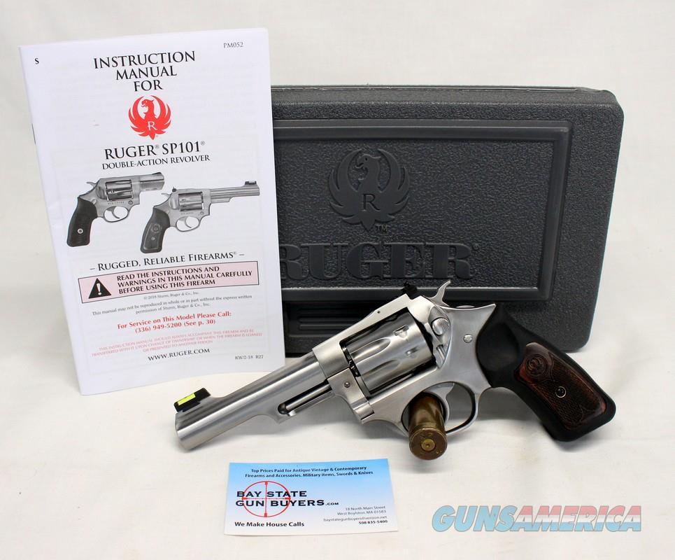 Ruger SP101 8-shot revolver ~ .22LR ~ Stainless Steel ~ SA/DA ~ BOX & MANUAL  Guns > Pistols > Ruger Double Action Revolver > SP101 Type