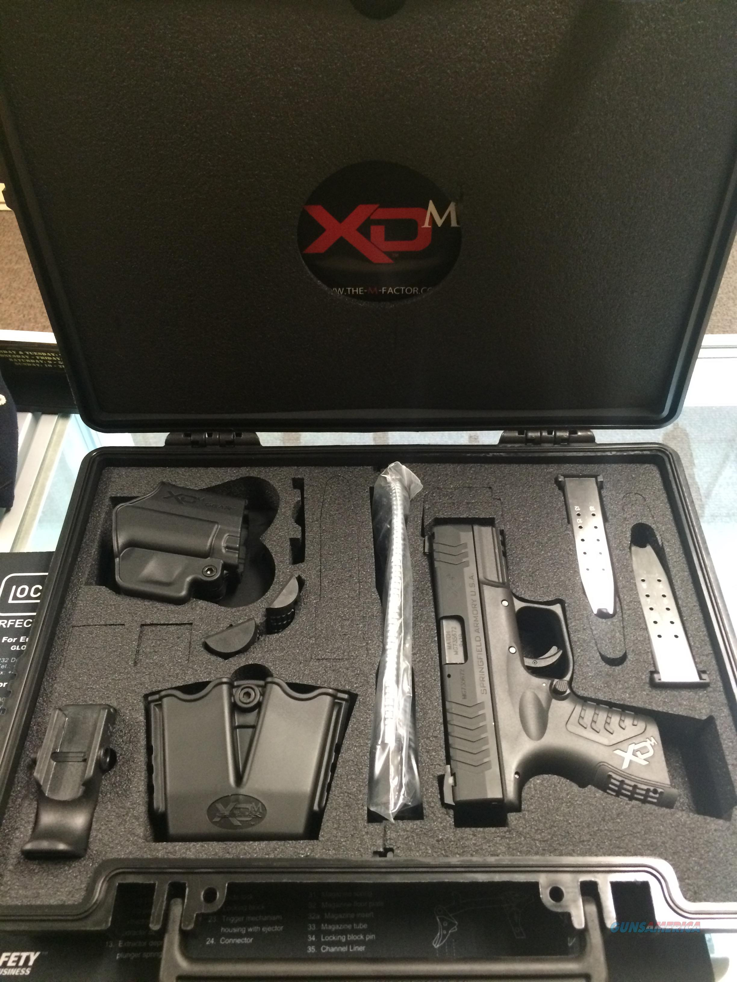 BRAND NEW SPRINGFIELD XDM9 COMPACT 3.8 13 & 15RND FREE SHIPPING! NO FEES!!   Guns > Pistols > Springfield Armory Pistols > XD-M