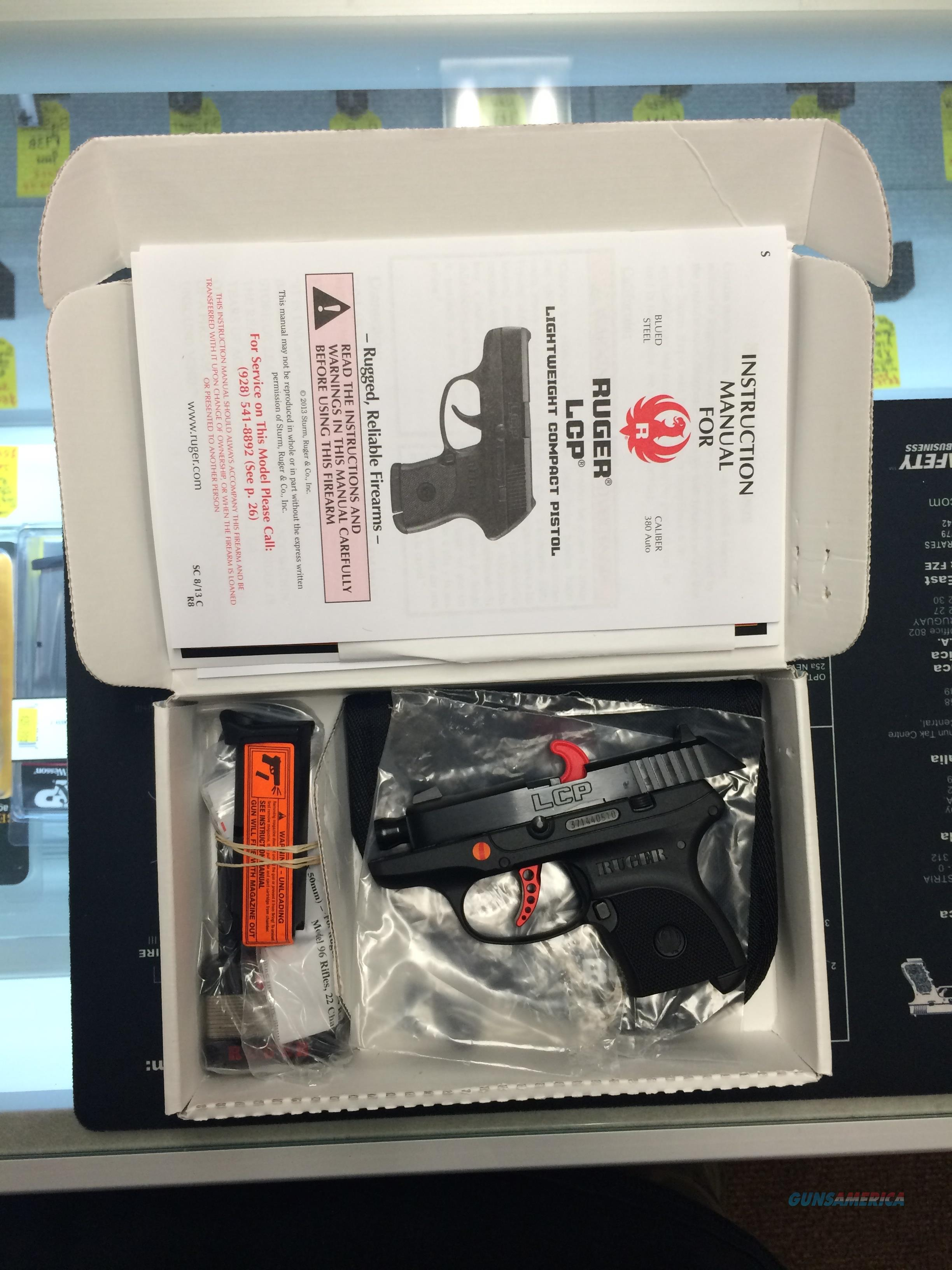 Brand New Ruger LCP Custom 3740 FREE SHIP! No FEES  Guns > Pistols > Ruger Semi-Auto Pistols > LCP