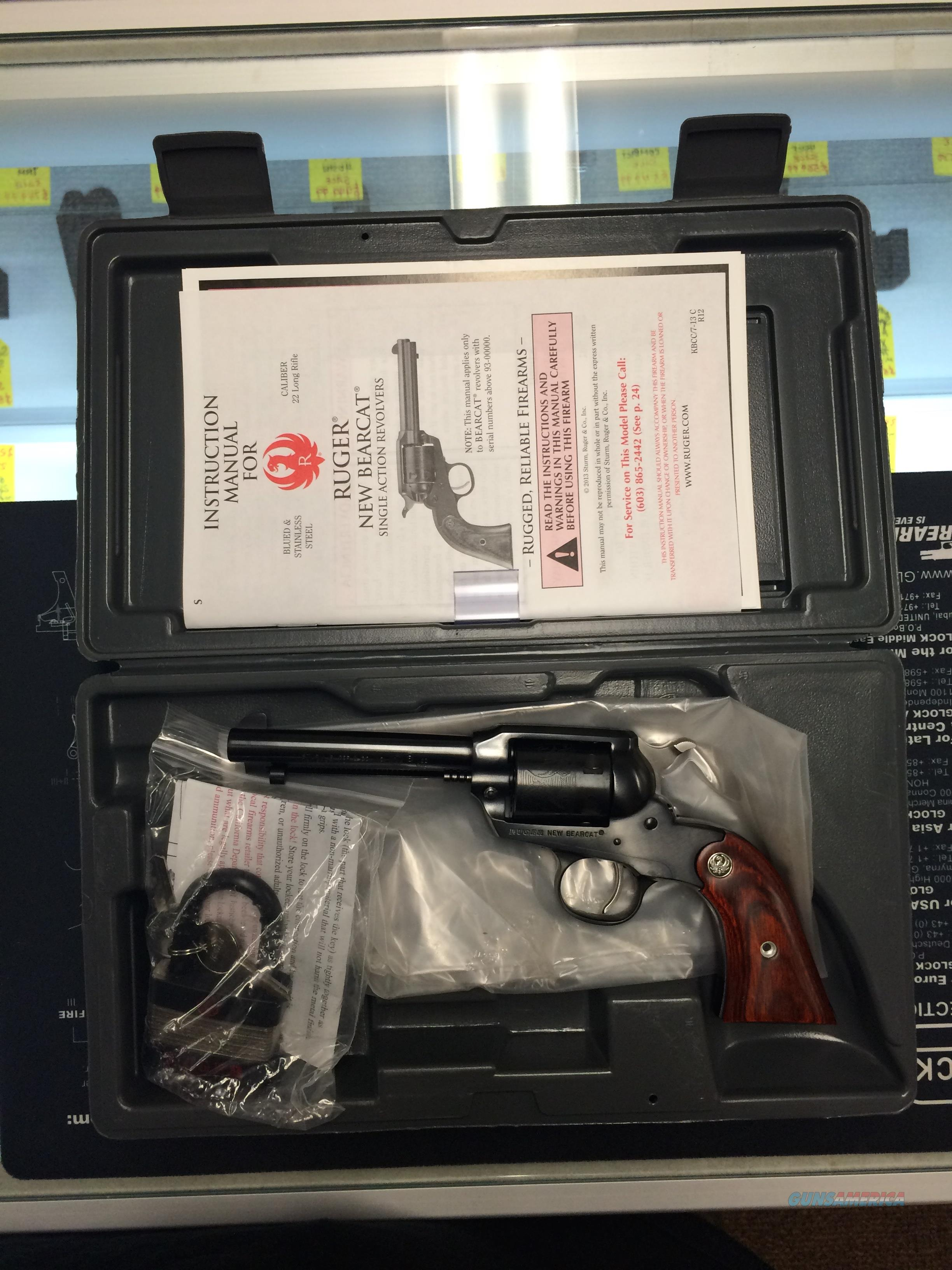 "BRAND NEW RUGER BEAR CAT 22LR 0912 4"" FREE SHIPPING!!   Guns > Pistols > Ruger Single Action Revolvers > Bearcat"