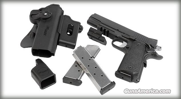 Sig 1911 Railed TacPac .45ACP w/ Laser  Guns > Pistols > Sig - Sauer/Sigarms Pistols > 1911