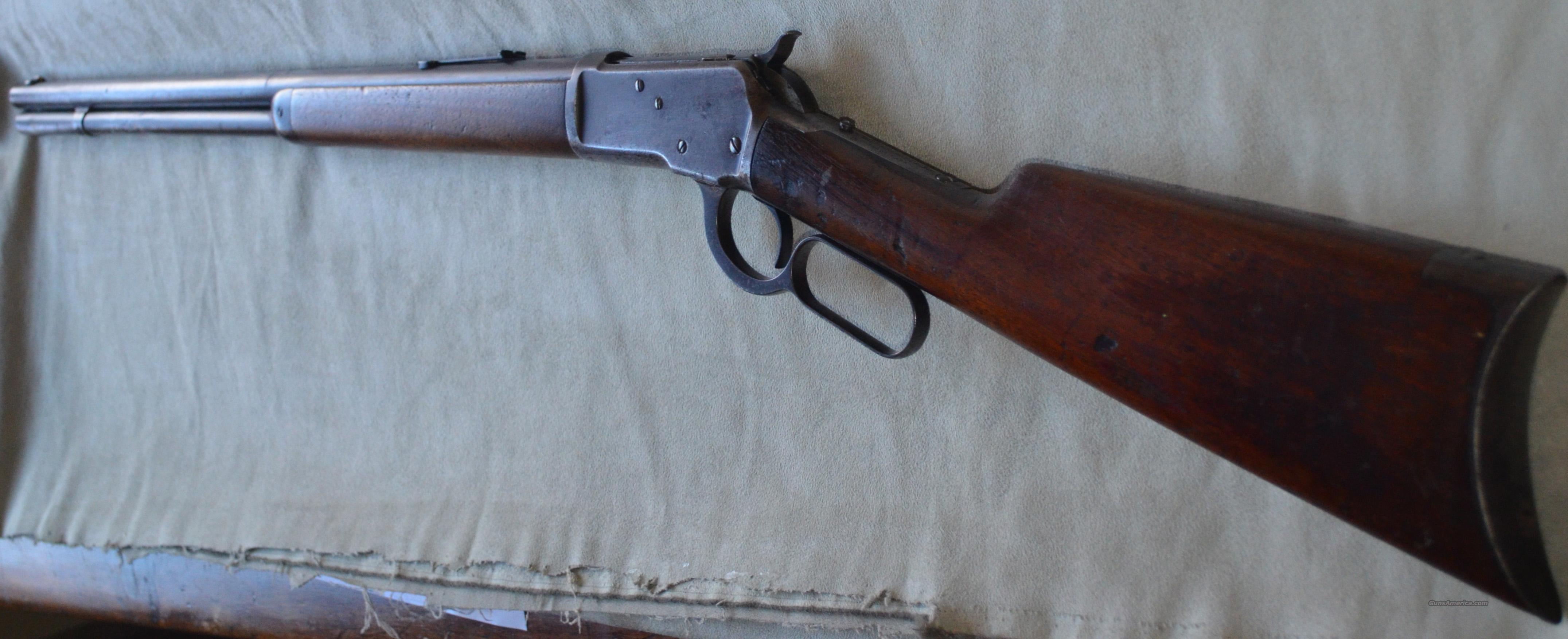 Winchester 1892 Lever action Mfg 1904  Guns > Rifles > Winchester Rifles - Pre-1899 Lever