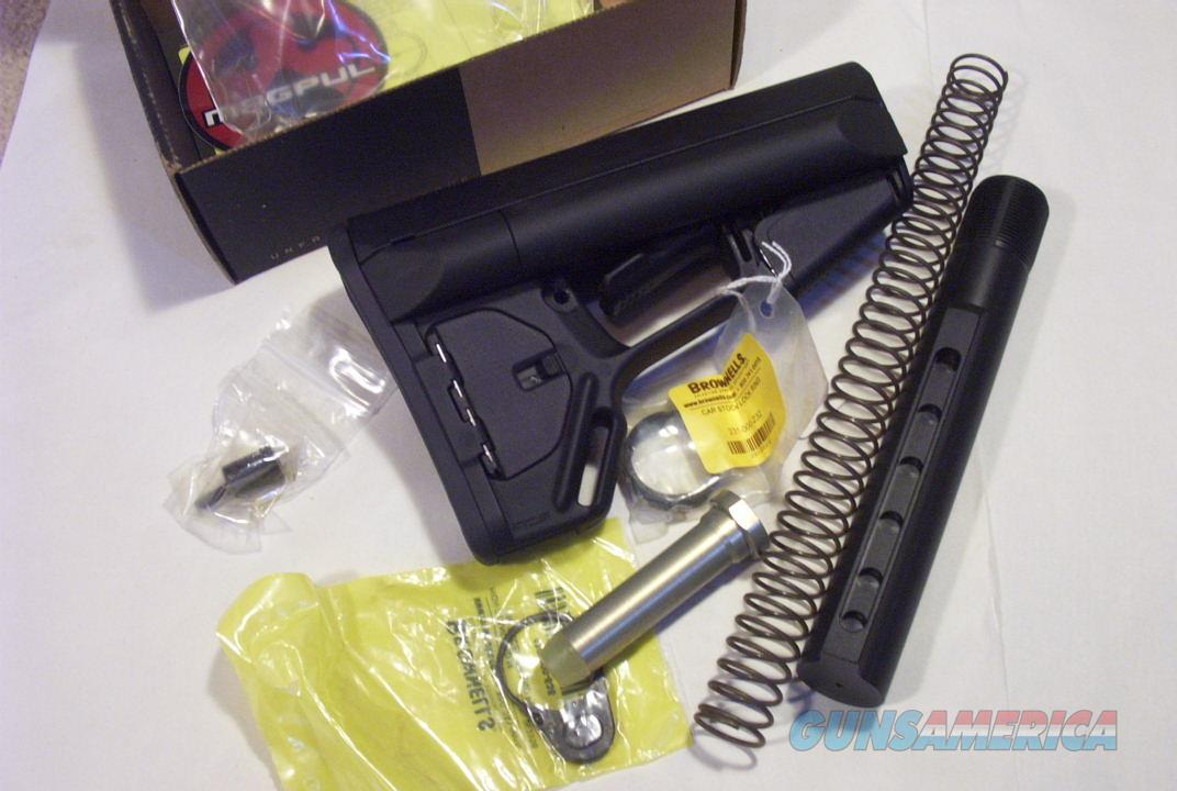 MAGPUL ACS COMMERCIAL STOCK BLACK NEW WITH RECEIVER KIT  Non-Guns > Gun Parts > Stocks > Polymer