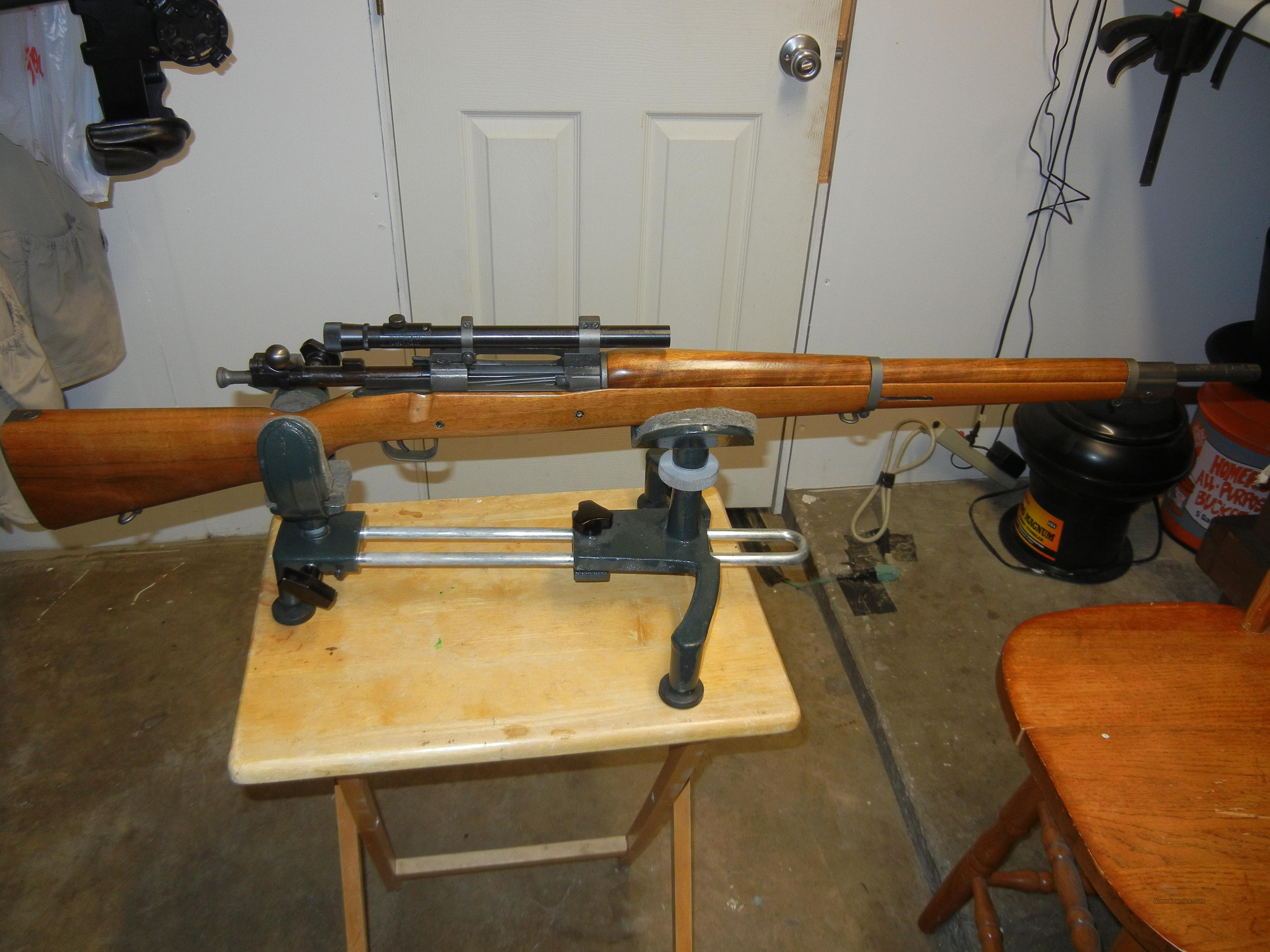 1903a4 Springfield Gibbs  Guns > Rifles > Military Misc. Rifles US > 1903 Springfield/Variants