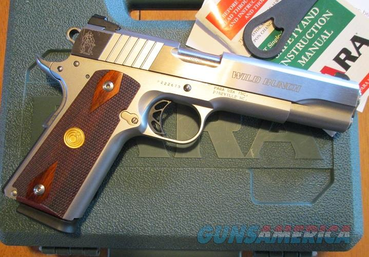 "PARA 1911 ""WILD BUNCH EDITION"" STAINLESS .45ACP  Guns > Pistols > Para Ordnance Pistols"